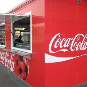 Coca Cola Italia – Format street food per stadio